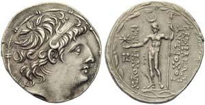 Seleucid kings of Syria, Antiochos VIII ...