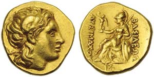 Kings of Thrace, Lysimachos, (323-281, and ...