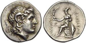 Kings of Thrace, Lysimachos (323-281, and ...