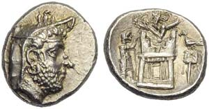 Kings of Persis, Uncertain king, Drachm, 2nd ...