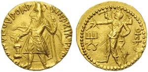 India, Kushan Empire, Kanishka I (127-151), ...