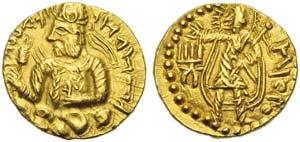 India, Kushan Empire, Huvishka (152-192), ...