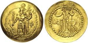 Kushano-Sassanids, Vahran I (330-365), ...