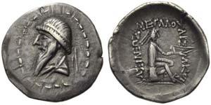 Mithradates I (171-138), Drachm, ...