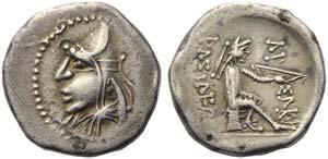 Mithradates I (171-138), Diobol, ...