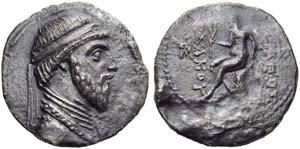 Mithradates II (123-88), Tetradrachm, Susa, ...
