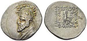 Phraates III (70-57), Drachm, Rhagae, c. ...