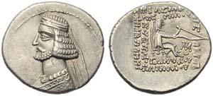 Mithradates IV (57-54), Drachm, ...
