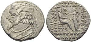 Phraataces (2 BC - AD 4), Tetradrachm, ...