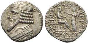 Gotarzes II (40-51), Tetradrachm, Seleukeia ...