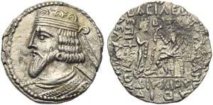Artabanus III (80-90), Tetradrachm, ...