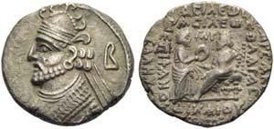 Vologases III (105-147), Tetradrachm, ...