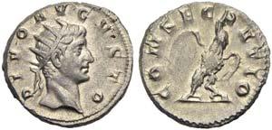Divus Augustus, Antoninianus, Mediolanum, AD ...