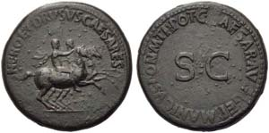 Nero and Drusus Caesares, brothers of ...