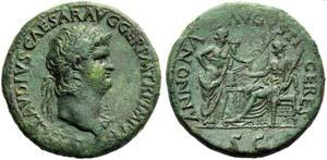 Nero (54-68), Sestertius, Rome, c. AD 64; AE ...