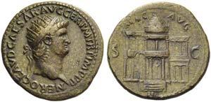 Nero (54-68), Dupondius, Rome, c. AD 64; AE ...