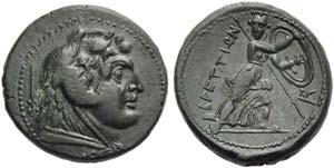 Bruttium, The Brettii, Didrachm, c. 211-208 ...
