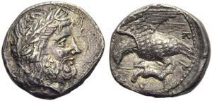 Bruttium, Lokroi Epizephyrioi, Stater, c. ...
