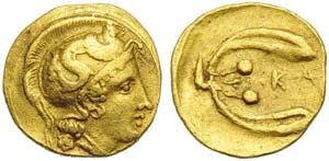 Sicily, kamarina, Diobol, c. 406-405 BC; AV ...