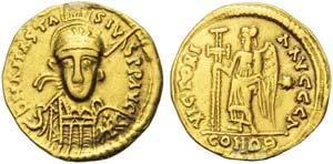 Merovingians, Solidus in the name of ...