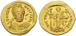 Justinus I (518-527), Solidus, ...