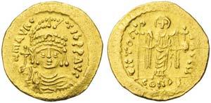 Maurice Tiberius (582-602), Solidus, ...