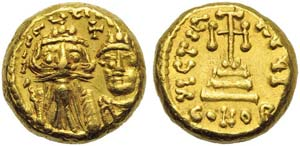 Constans II with Constantine IV (641-668), ...