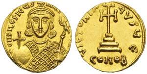 Philippicus (711-713), Solidus, ...