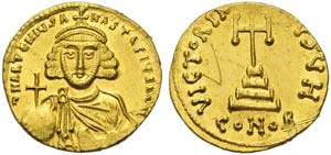 Anastasius II (713-715), Solidus, ...