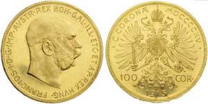 Austria, Franz Joseph I (1848-1916), 100 ...