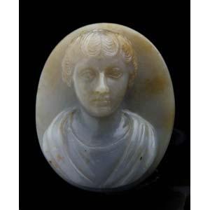 Imago Clipeata portrait bust of Faustina the ...