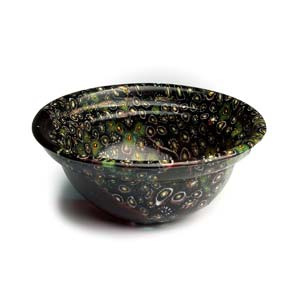 Roman millefiori glass patella cup 1st - 2nd ...