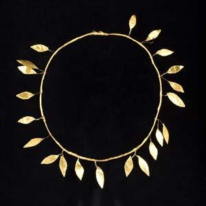 Gold laurel wreath Magna Graecia, 4th – ...