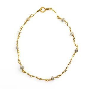 Roman gold and paste bracelet 2nd – 3rd ...