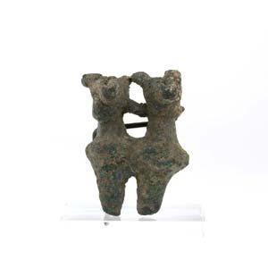 Anatolic bronze idol 2nd millennium BC; ...