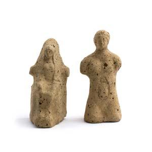A couple of Italic votive statuettes 3rd – ...