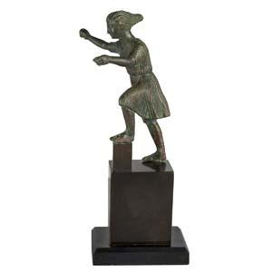 Greek bronze charioteer  5th - 4th century ...