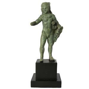 Roman bronze Herakles  3rd century BC; ...