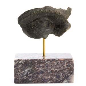 Bronze eye from a Roman statue 3rd century ...