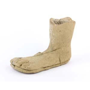Italic votive foot  3rd – 2nd century BC; ...