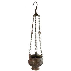 Arabic - byzantine bronze censer 7th century ...