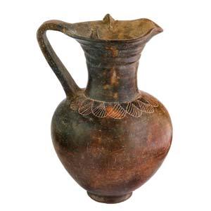 Etruscan Impasto oinochoe Mid 7th century ...