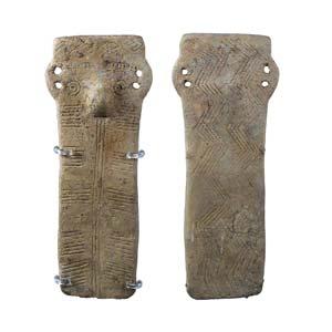 Cypriot idol 2nd millennium BC; height cm ...