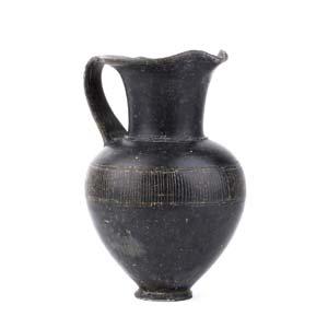 Etruscan Bucchero oinochoe Etruria, end of ...