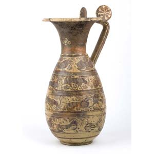 Etrusco-Corinthian caster olpe Mid 6th ...