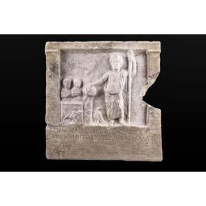 Votive stele to Zeus Cyzicus (Asia Minor), ...