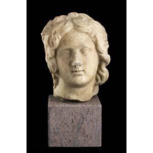 Head of Apollo  1st century BC – 1st ...