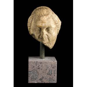 Old woman portrait as Livia Augusta Drusilla ...