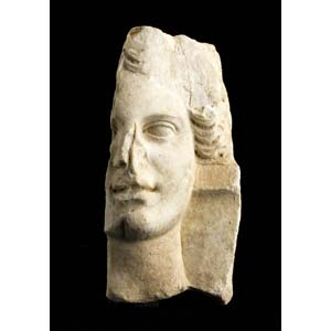 Roman goddess head in relief 2nd – 1st ...