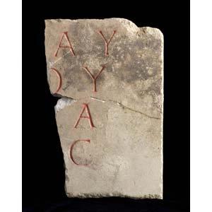 Roman epigraph 1st century BC – 2nd ...